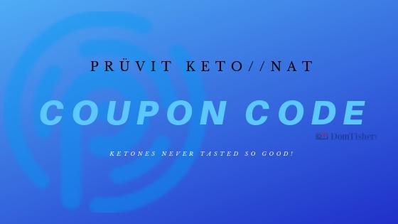 Pruvit coupon code