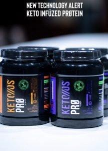 Keto OS Pro Pruvit Keto Protein powder
